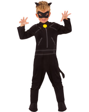 Catnoir Kostüm classic für Jungen Miraculous - Geschichten von Ladybug und Catnoir