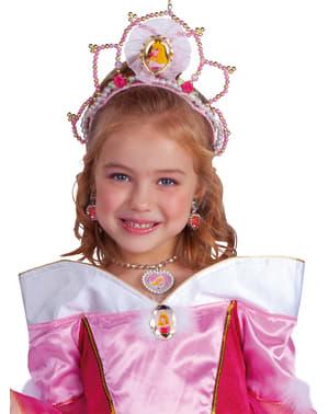 Tornerose tiara til piger