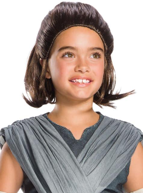 Peruka Rey Star Wars Ostatni Jedi dla dziewczynek