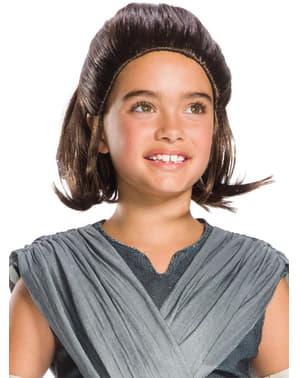Rey Perücke für Mädchen Star Wars: Die letzten Jedi