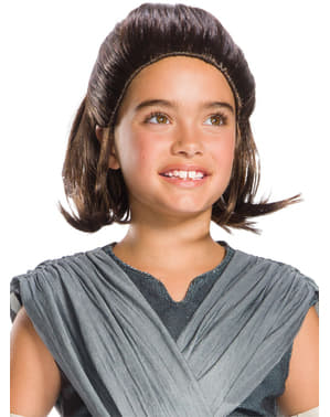 Rey Star Wars The Last Jedi wig for girls