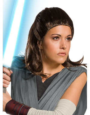 Peruka Rey Star Wars Ostatni Jedi dla kobiet
