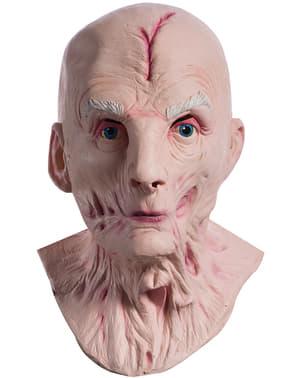 המנהיג העליון Snoke Star Wars הג'דיי האחרון מסכה דלוקס לגברים