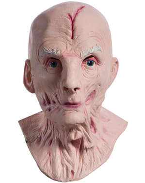 Върховен лидер Snoke Star Wars Последната луксозна маска на джедаите за мъже