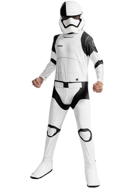 Fato de Executioner Trooper Star Wars The Last Jedi para menino