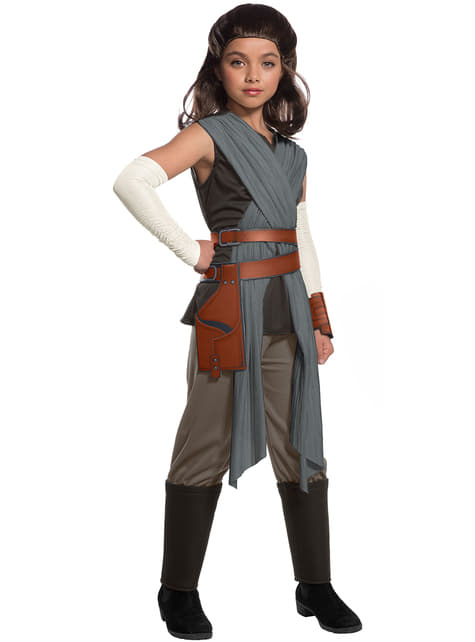Disfraz de Rey Star Wars The Last Jedi deluxe para niña