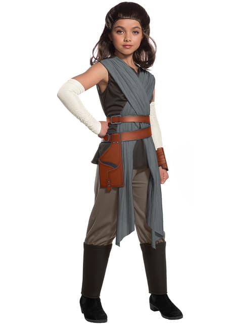 Rey Kostüm deluxe für Mädchen Star Wars: Die letzten Jedi