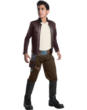Poe Dameron Star Wars The Last Jedi deluxe costume for boys