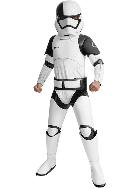 Executioner Trooper Star Wars The Last Jedi super deluxe costume for boys