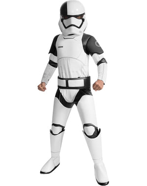 Costum Executioner Trooper Star Wars The Last Jedi super deluxe pentru băiat