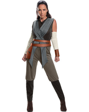 Rey Star Wars The Last Jedi kostyme for damer