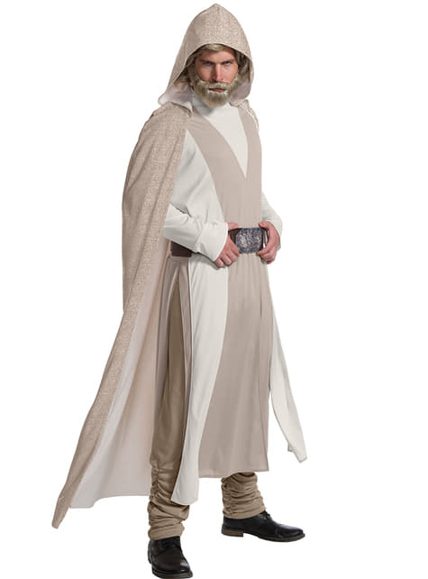 Disfraz de Luke Skywalker Star Wars The Last Jedi deluxe para hombre