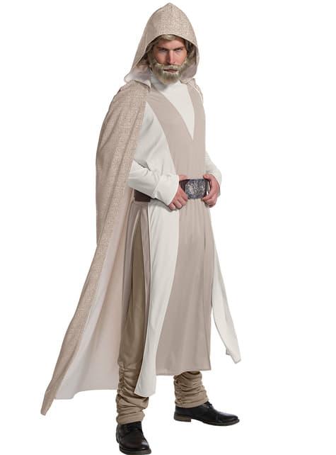 Luke Skywalker Star Wars The Last Jedi deluxe kostuum voor mannen
