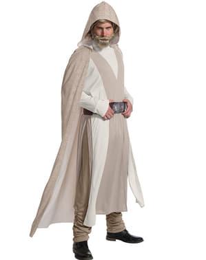 Fato de Luke Skywalker Star Wars The Last Jedi deluxe para homem