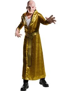 Disfraz de Líder Supremo Snoke Star Wars The Last Jedi deluxe para hombre