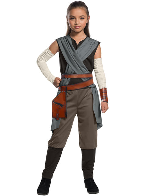Rey Star Wars The Last Jedi costume for girls