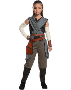 Rey kostume til piger - Star Wars: The Last Jedi
