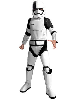 Costum Executioner Trooper Star Wars The Last Jedi deluxe pentru băiat