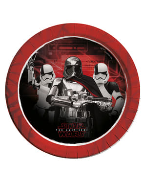 8 pratos Star Wars The Last Jedi - The Last Jedi