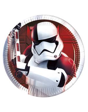 Yıldız Savaşları Son Jedi Cellat Trooper 8 tabak seti