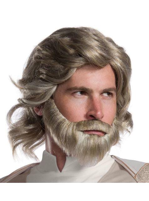 Peruka Luke Skywalker Star Wars Ostatni Jedi dla mężczyzn