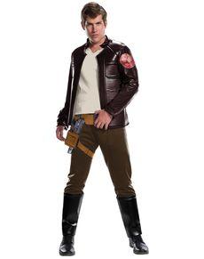 Disfraz de Poe Dameron Star Wars The Last Jedi deluxe para hombre