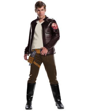 Fato de Poe Dameron Star Wars The Last Jedi deluxe para homem