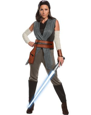 Rey Star Wars The Last Jedi deluxe costume for women