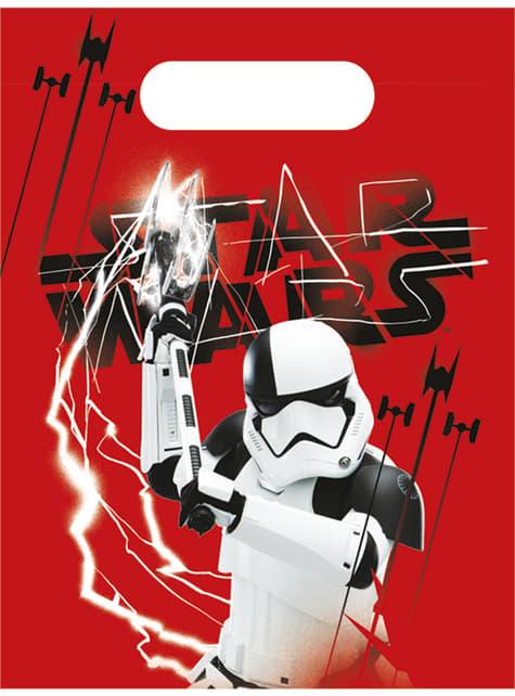 6 sacchetti Star Wars - The Last Jedi