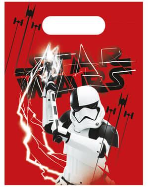 6kpl Setti Star Wars The Last Jedi-lahjapusseja