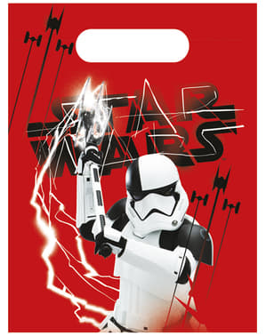 Star Wars The Last Jedi set of 6 party bags - The Last Jedi