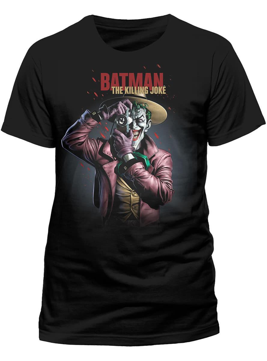 Joker Killing Joke T Shirt For True Fans Funidelia