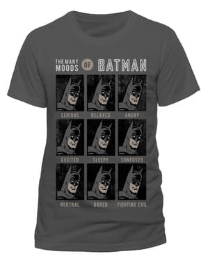 T-shirt Batman Moods of Batman