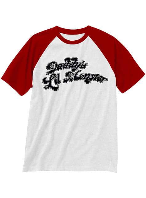 T-shirt de Harley Quinn Daddy´s Little Monster para mulher