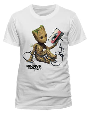 Miesten Guardians of the Galaxy: Groot & Kasetti t-paita