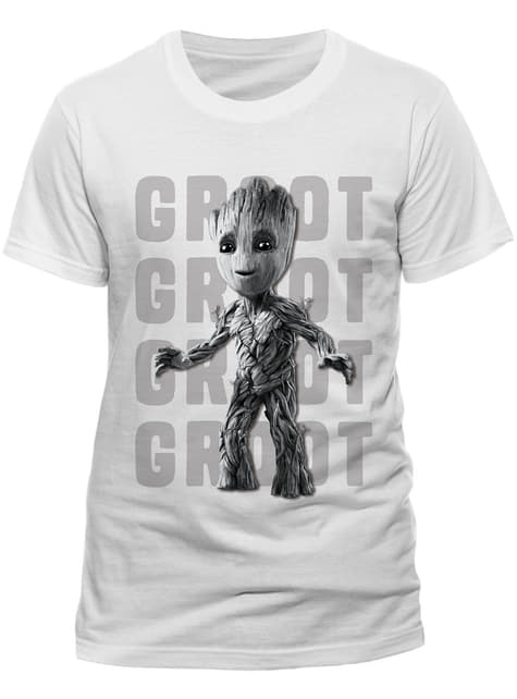 T-shirt de Os Guardiões da Galáxia Photo Groot