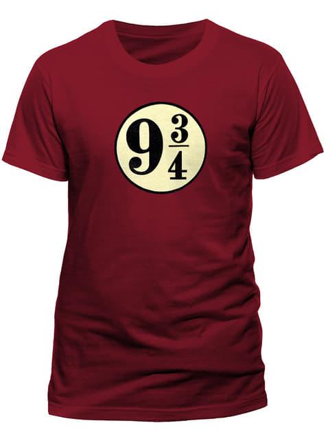 T-shirt de Harry Potter Plataforma 9 e 3/4 para homem