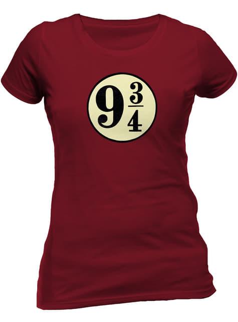 Harry Potter Gleis 9 und 3/4 T-Shirt für Damen