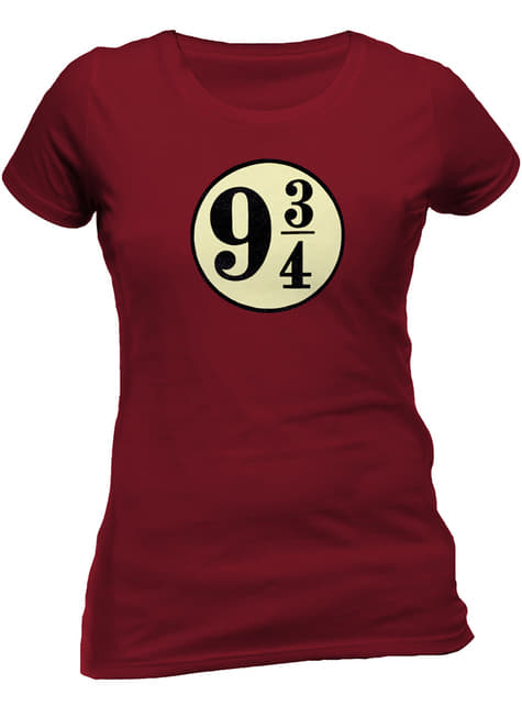 Harry Potter Platform 9 3/4 t-shirt for women