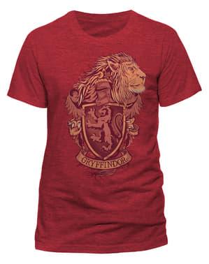 ハリーポッター 男性用グリフィンドールTシャツ