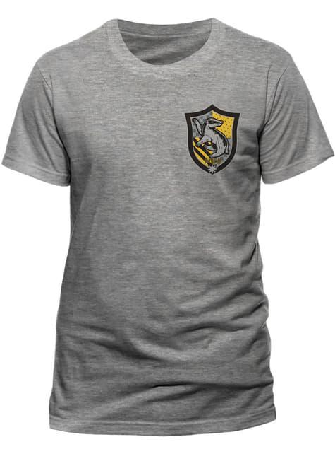 T-shirt de Harry Potter Casa Hufflepuff para homem