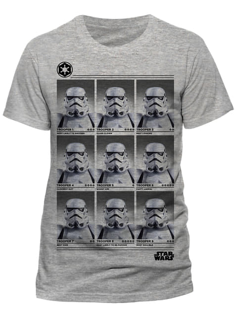 Camiseta de Star Wars Trooper Yearbook