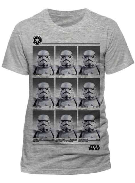 Star Wars Trooper Yearbook t-shirt