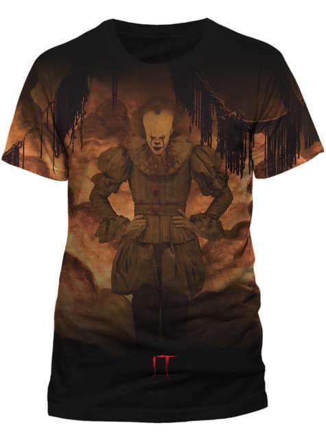 T-shirt de IT The Movie Flames