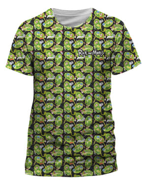 Pattern Repeat T-Shirt Rick und Morty