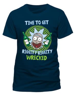रिक और मॉर्टि रिगिटी रिगिटी वीकडेड टी-शर्ट