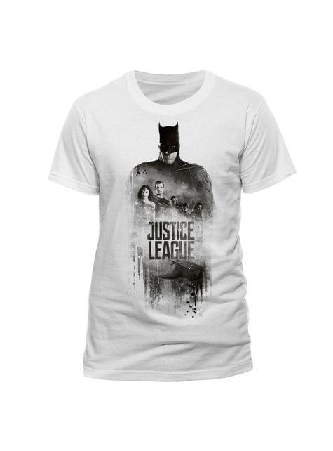 T-shirt de Liga da Justiça Batman Silhouette