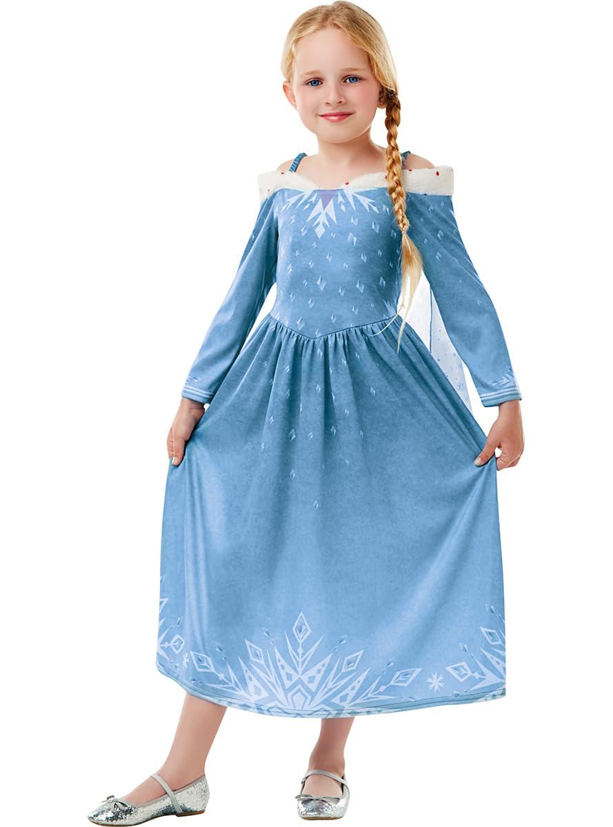 Costume elsa la reine des neiges fille joyeuses f tes - Elsa la reine ...