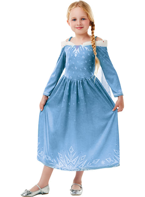 Elsa Frozen costume for girls - Olaf's Frozen Adventure