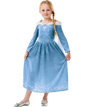 लड़कियों के लिए एल्सा फ्रोजन पोशाक - ओलाफ की फ्रोजन एडवेंचर